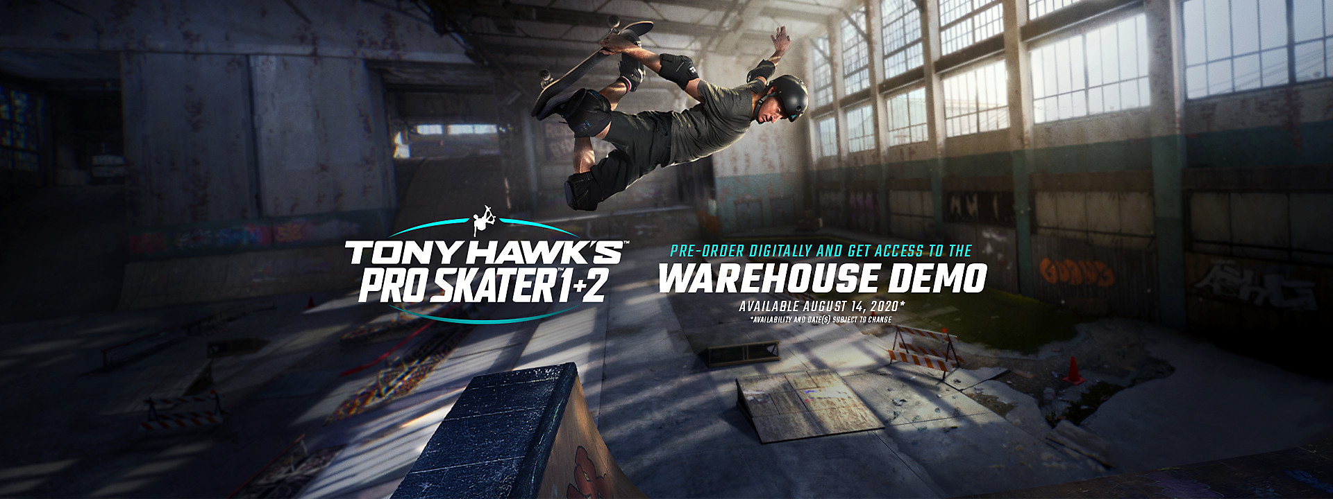 Tony Hawk's Pro Skater 1 + 2 - Warehouse Demo Now Available