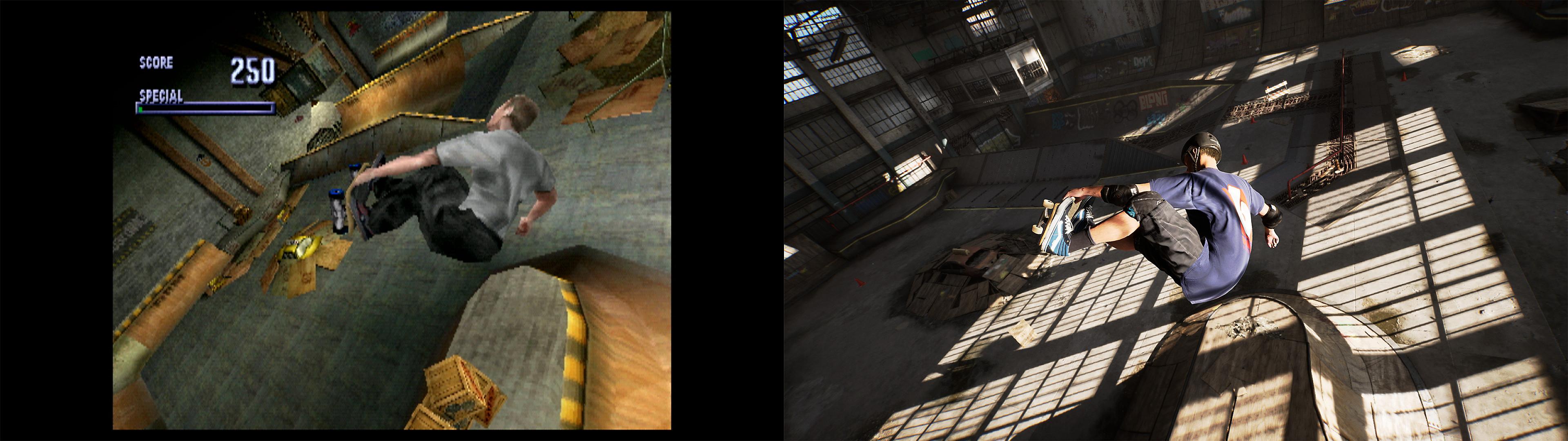 """Descripción general del juego – Captura de pantalla de """"Antes y después"""""""