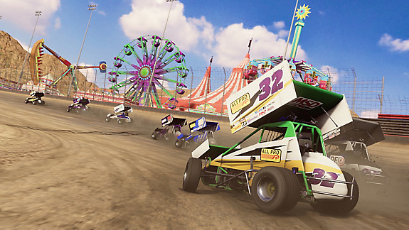 Tony Stewart's Sprint Car Racing - Screenshot INDEX