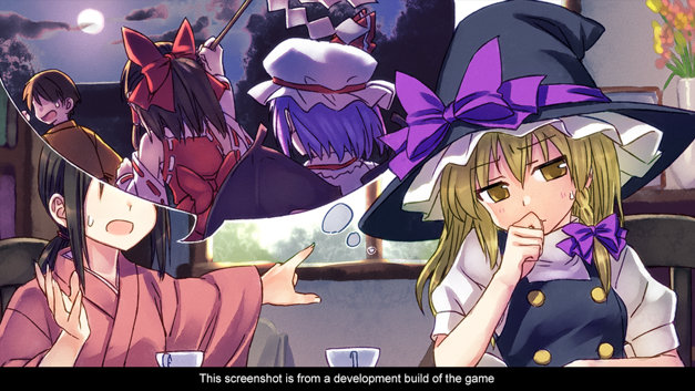 Touhou Kobuto V: Burst Battle Screenshot 4