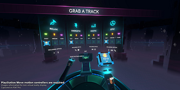 Track Lab - Screenshot INDEX