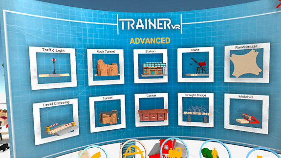 Trainer VR - Screenshot INDEX