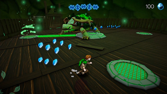 Treasure Rangers - Screenshot INDEX