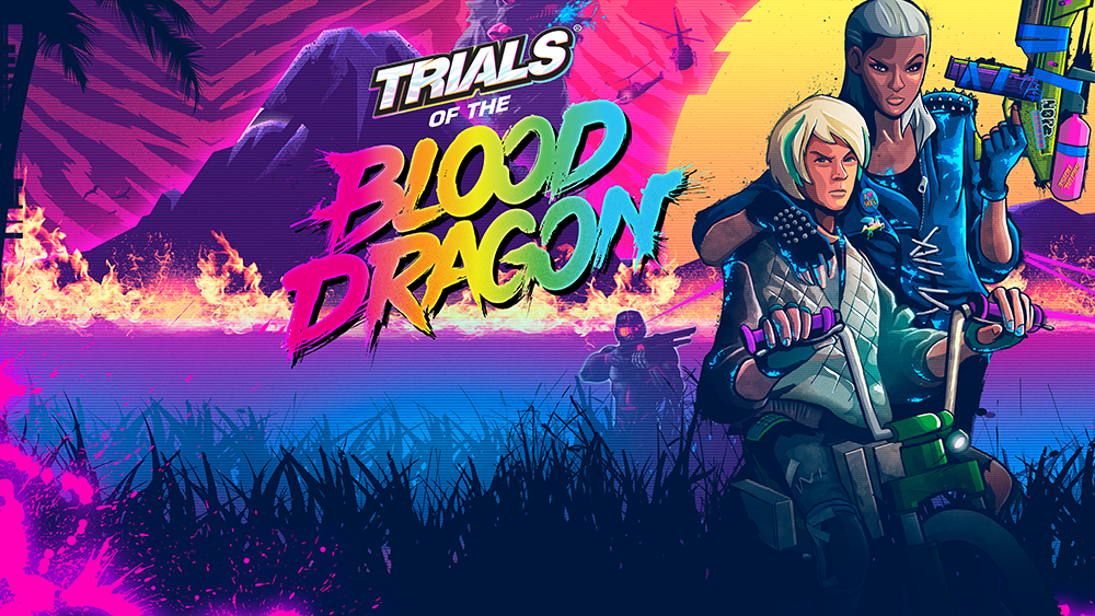 Trials Of The Blood Dragon Game Ps4 Playstation