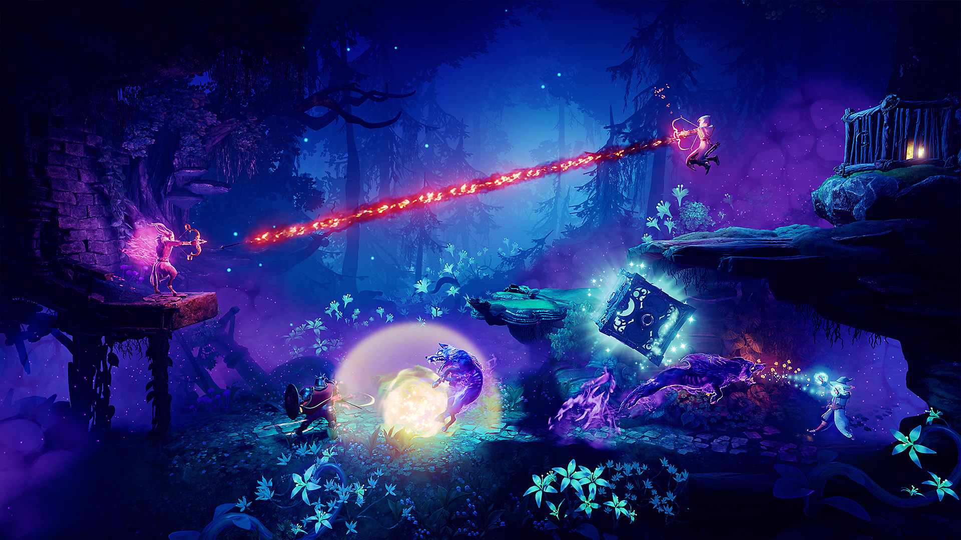 Trine: Ultimate Collection - Screenshot 5 - Trine 4: The Nightmare King