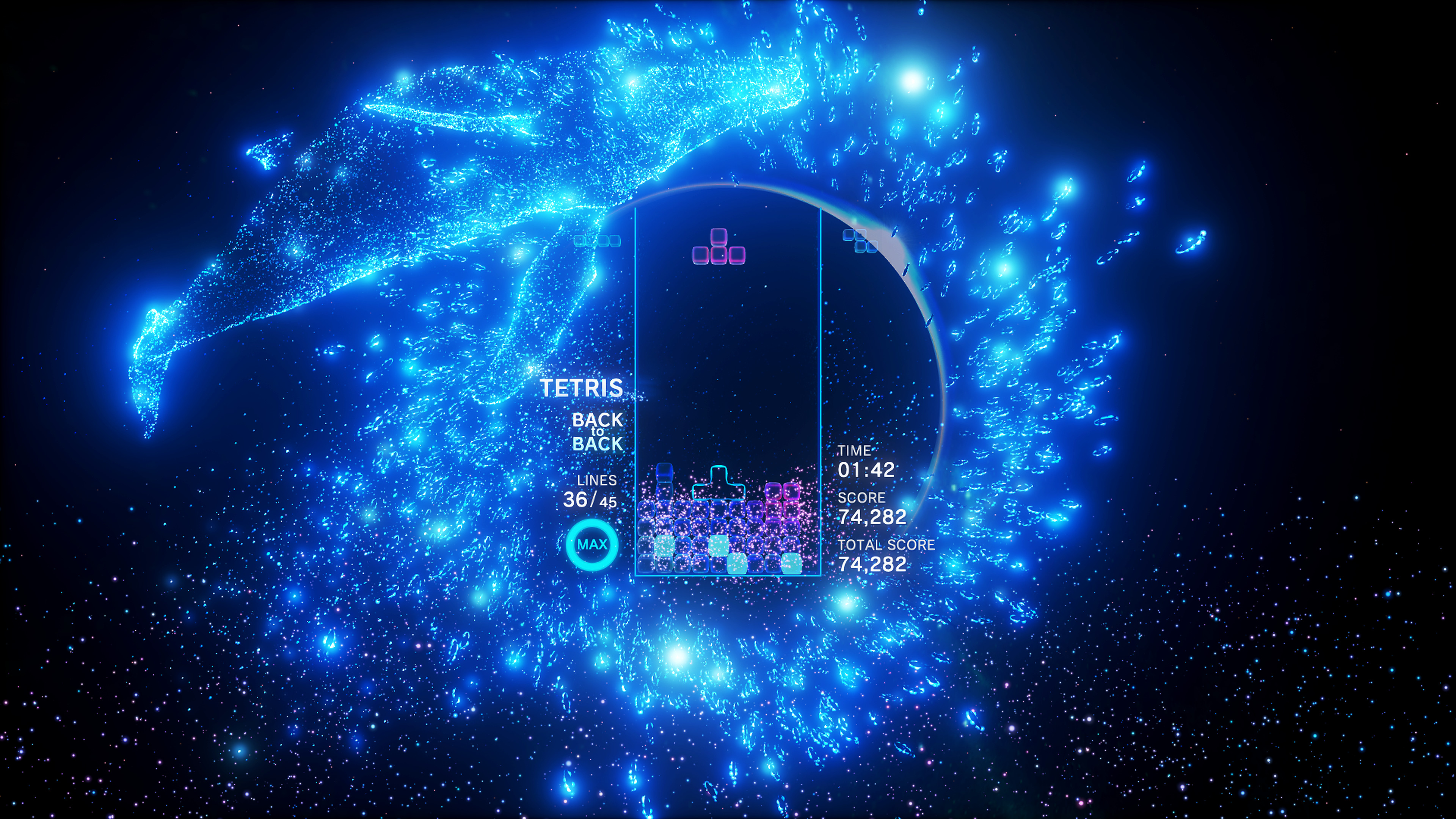 Tetris® Effect screenshot