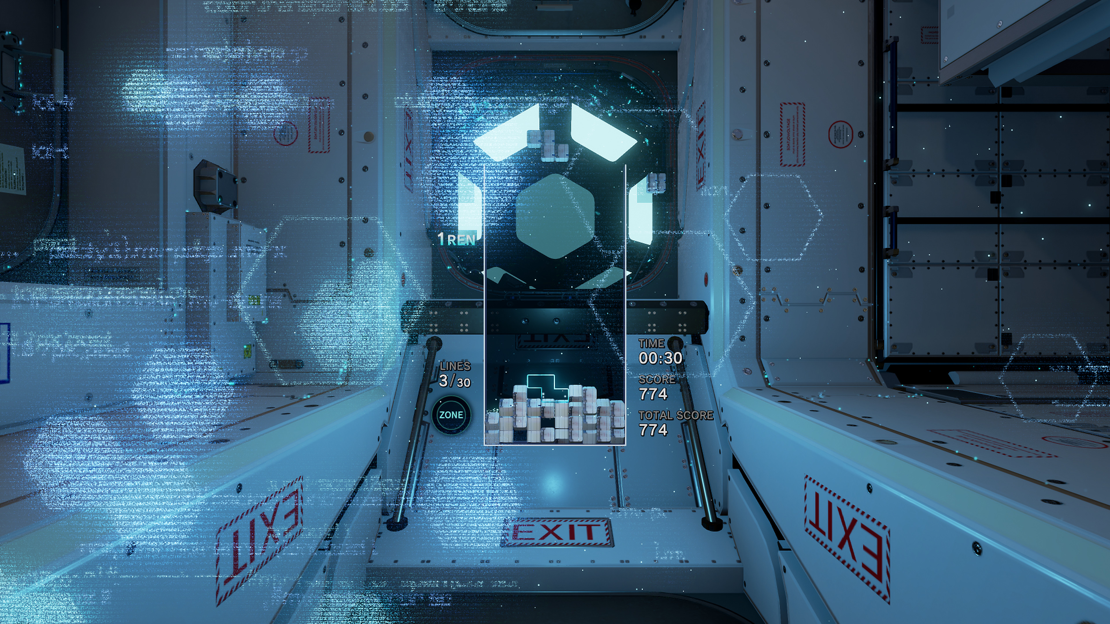 Tetris Effect Gameplay Features Screenshot 1