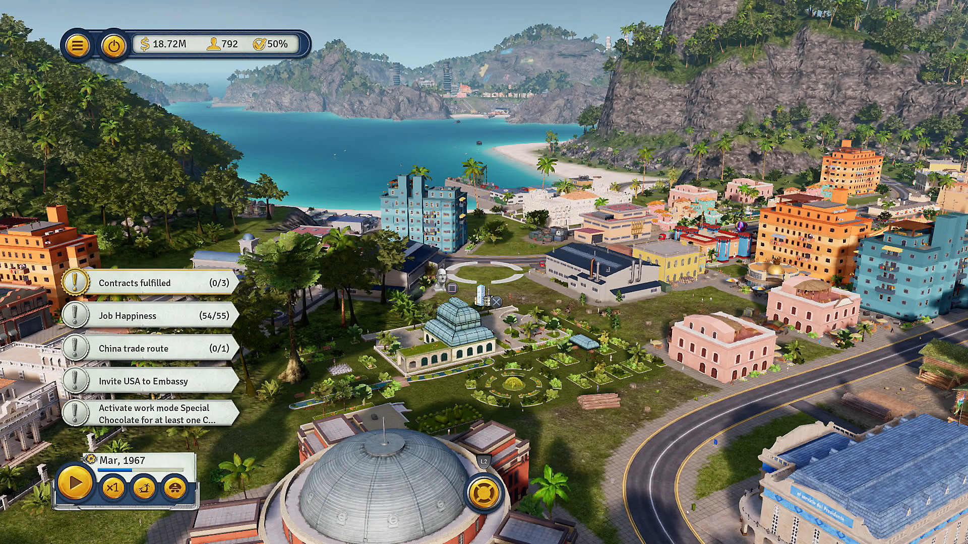 Gameplay de Tropico 6