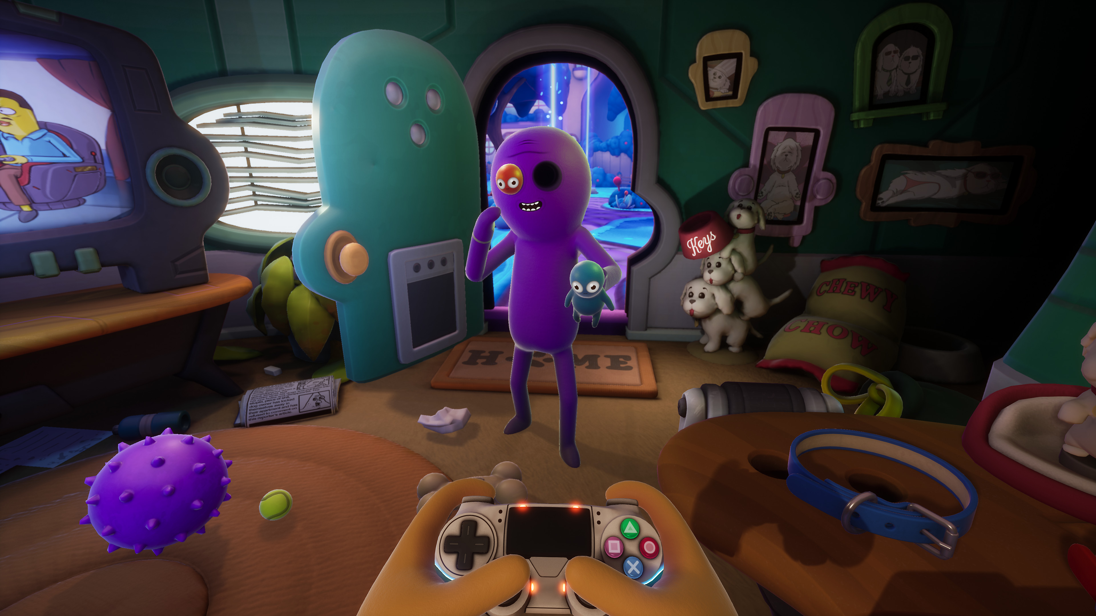 Trover Saves the Universe Game | PS4 - PlayStation