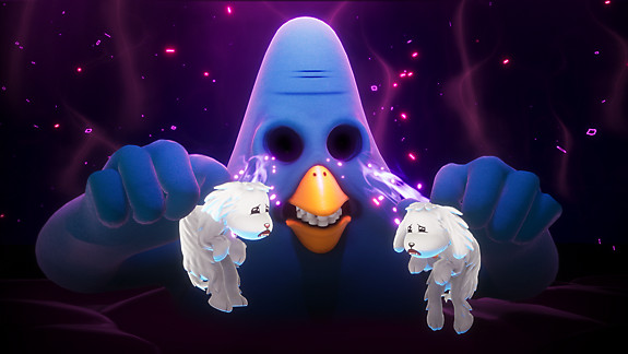 Trover Saves the Universe - Screenshot INDEX
