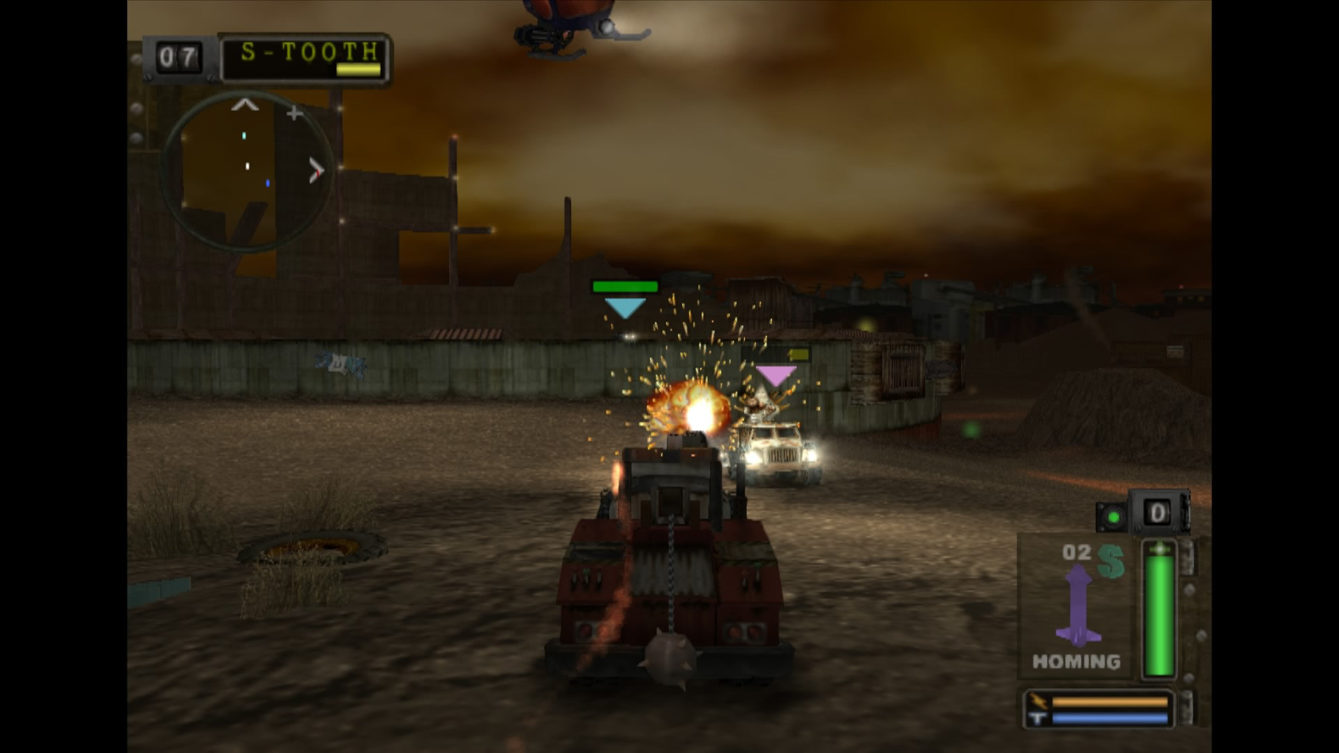 twisted metal black game ps4 playstation