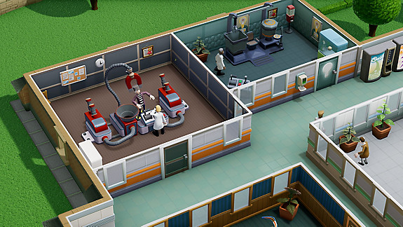 Two Point Hospital - Screenshot INDEX