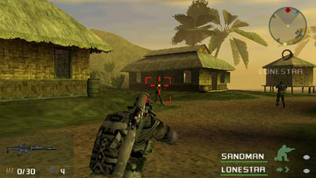 SOCOM U.S. Navy SEALs Fireteam Bravo Screenshot 1