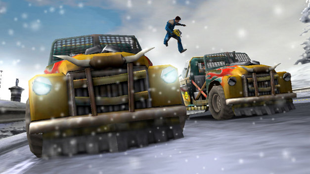 Pursuit Force™: Extreme Justice Screenshot 7