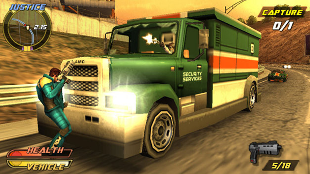 Pursuit Force™: Extreme Justice Screenshot 4