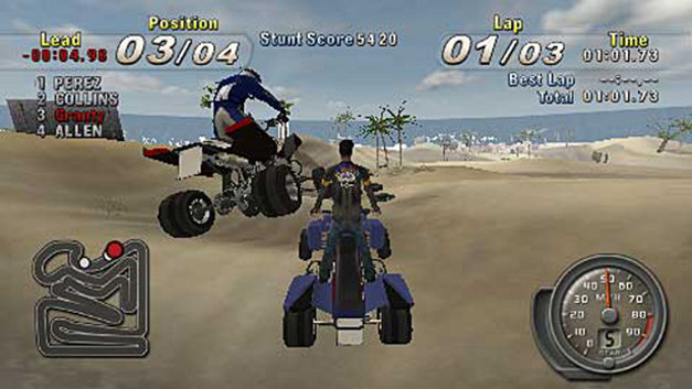 ATV Offroad Fury® : Blazin' Trails Screenshot 1