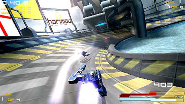 wipe out psp