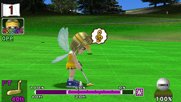 Hot Shots Golf: Open Tee® Screenshot 1