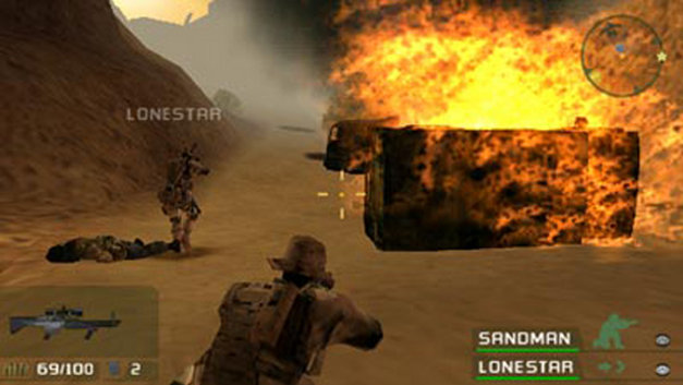 SOCOM U.S. Navy SEALs Fireteam Bravo Screenshot 7