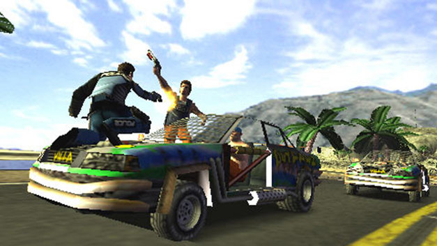 Pursuit Force™ Screenshot 1