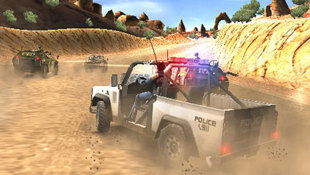 Pursuit Force™ Screenshot 5