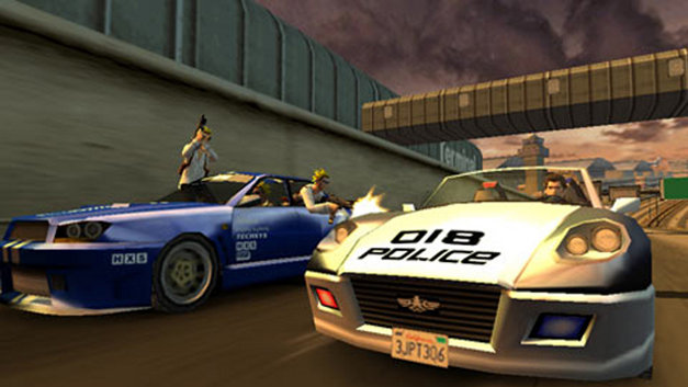 Pursuit Force™ Screenshot 7