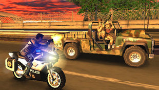 Pursuit Force™ Screenshot 8