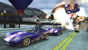 Pursuit Force™ Screenshot 9