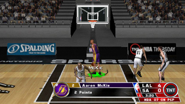 NBA 07 Screenshot 4
