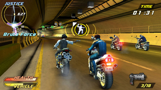 Pursuit Force™: Extreme Justice Screenshot 1