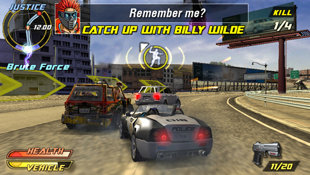 Pursuit Force™: Extreme Justice Screenshot 11