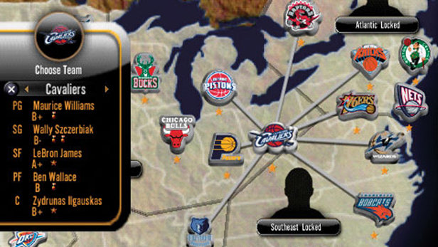 NBA 10: THE INSIDE Game   PSP - PlayStation