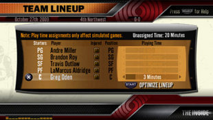NBA 10: THE INSIDE Screenshot 5