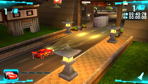 Cars 2 The Video Game Game Psp Playstation