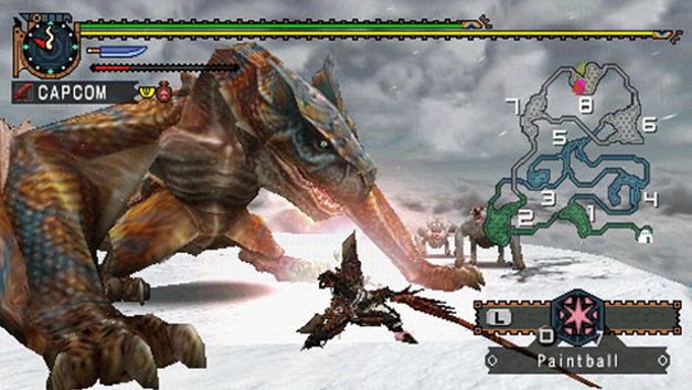 Monster Hunter Freedom 2 Screenshot 1