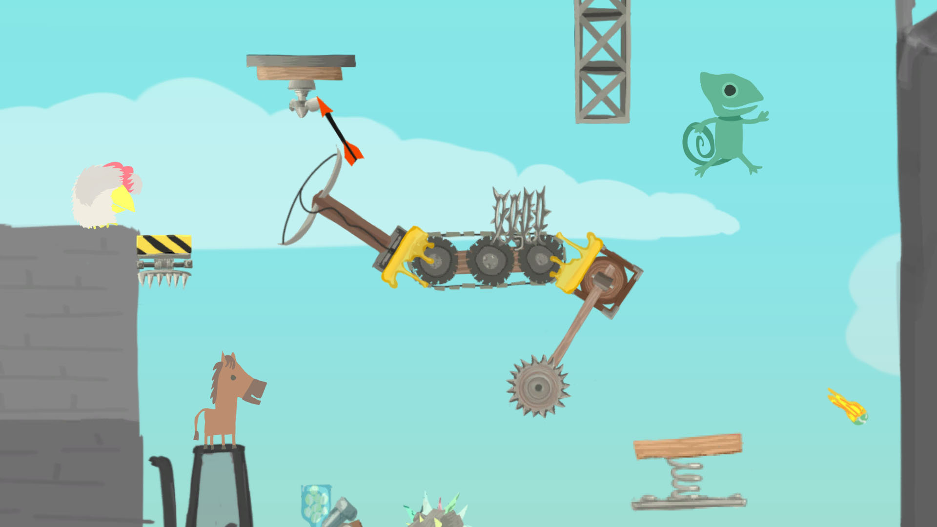 Ultimate Chicken Horse Game | PS4 - PlayStation