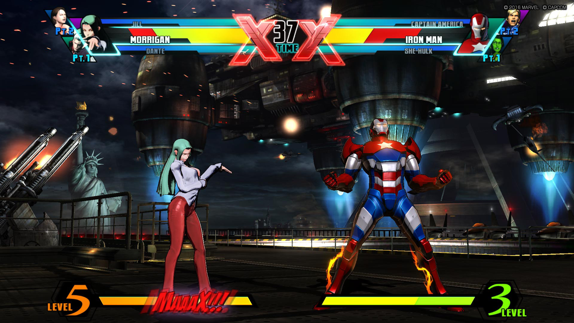 Ultimate Marvel Vs Capcom 3 Game Ps4 Playstation