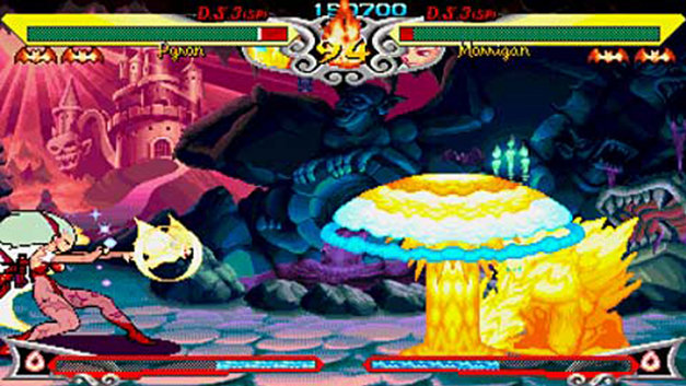 Darkstalkers Chronicle: The Chaos Tower Screenshot 1