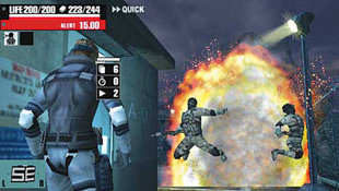 Metal Gear Acid Screenshot 3
