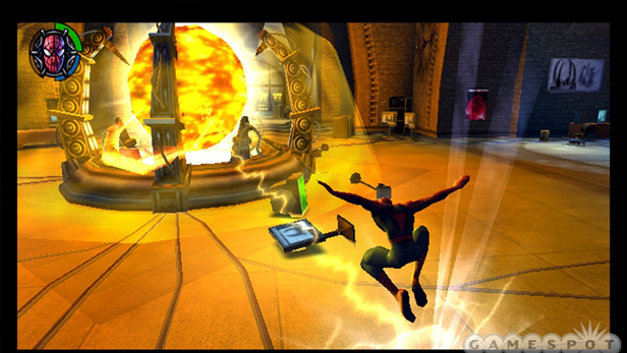 spider man 2 psp gameplay
