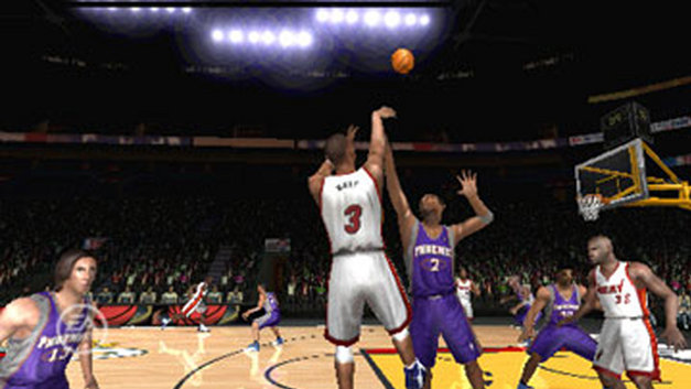 NBA Live 06 Screenshot 1