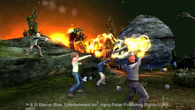 Harry Potter and the Goblet of Fire Screenshot 1