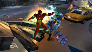 Marvel Nemesis: Rise of the Imperfects Screenshot 2
