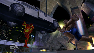 Marvel Nemesis: Rise of the Imperfects Screenshot 3