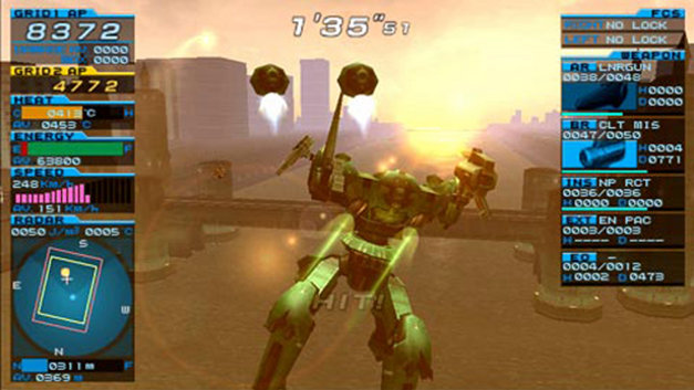 Armored Core: Formula Front Screenshot 4