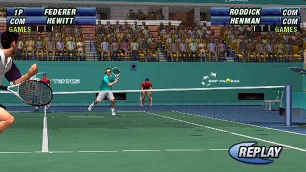 Virtua Tennis: World Tour Screenshot 1