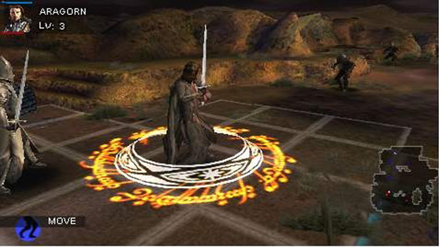 lord of the rings psp