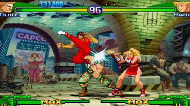 Street Fighter Alpha 3 MAX Screenshot 1