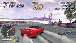 OutRun 2006: Coast 2 Coast Screenshot 2