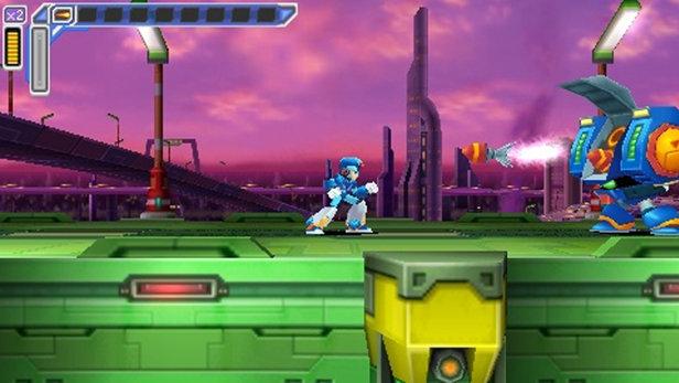 Mega Man Maverick Hunter X Game Psp Playstation